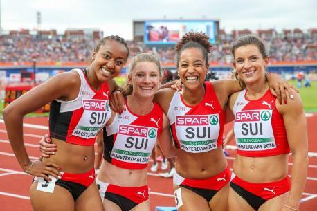 Euquipe féminine du relais 4x100m