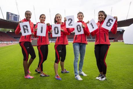 Relais 4x100m féminin suisse Elite Swiss Coach