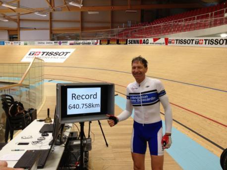 Record suisse, cyclisme sur piste, Elite Swis Coach