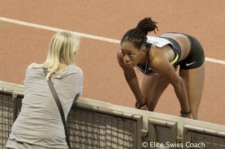 La spécialiste anglaise du saut en longueur, Shara Proctor