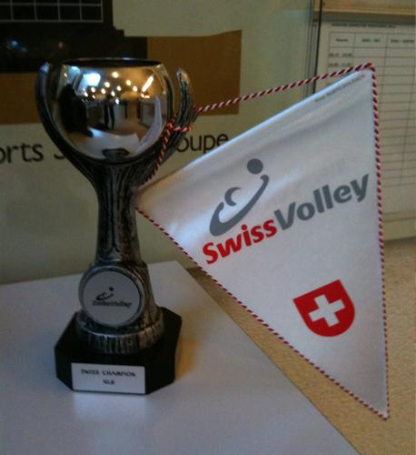 La coupe du LUC, Champion Suisse de Volleyball LNB 2012
