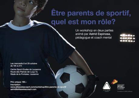 Workshop Etre parent de sportif, Elite Swiss Coach