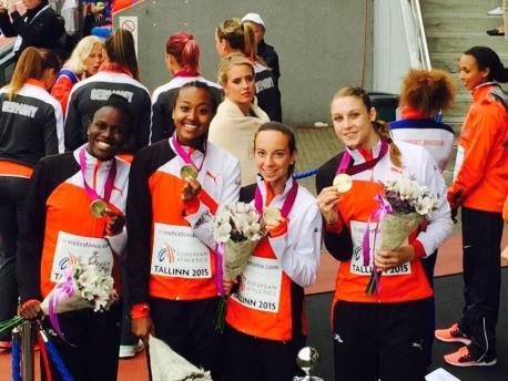 4x100 relais U23 swiss Tallin 2015